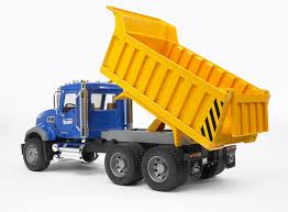 bruder mack granite dump truck at growing tree toys
