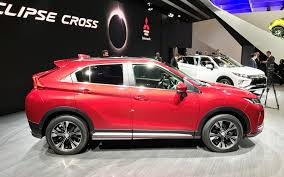 2018 mitsubishi eclipse cross a new suv for the brand picture