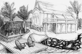 House Drawings by Beach House Drawing Brucall Com