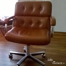 chaise de bureau hello fauteuil de bureau vintage camel hello vintage destiné à fauteuil