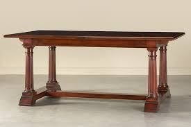 Types Of Dining Room Tables by Dining Tables Cherry Wood Dining Table Vintage Thomasville