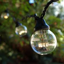 Edison Lights String by Backyard String Lighting Weather Resistant Outdoor Lights