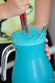 tropical mermaid punch recipe finding zest