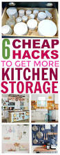 443 best for the home organization inspiration images on 6 cheap ways to create more storage in your kitchen