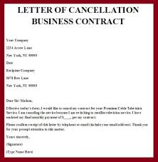 termination of business letter if you own a business that is