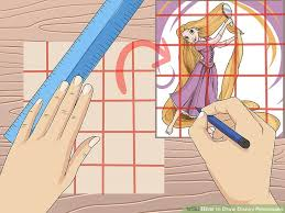 draw disney princesses 14 steps pictures wikihow