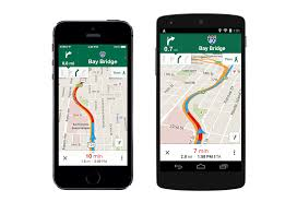 Google Map Directions Driving Google Maps Update Works With Uber Has Lane Detection For Driving
