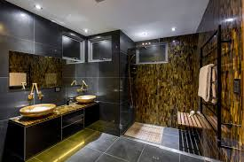 black bathroom design ideas 23 black and gold bathroom designs decorating ideas design