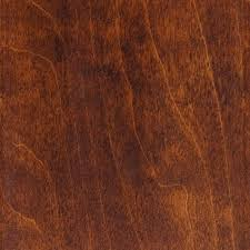 Country Floor by Millstead Take Home Sample Hand Scraped Hickory Cocoa Solid