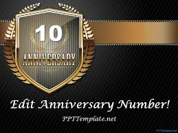 free dark anniversary powerpoint template church pinterest