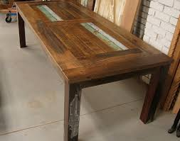Reclaimed Timber Dining Table Reclaimed Timber Table For Home How To Do This Work