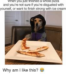 Memes About Pizza - when you just tinished a whole pizza and you re not sure if you re
