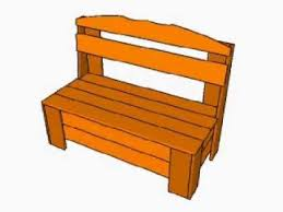 outdoor storage bench plans youtube
