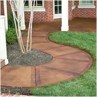 Dyed Concrete Patio by Staining Concrete Patios Driveways And Pool Decks Help Center