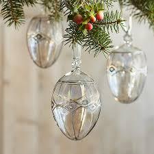 egg ornament brilliant glass egg ornament robert redford s sundance catalog