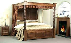 4 Poster Bed Frames Four Poster Bed Frame King King Size Bed Canopy 4 Poster King Bed