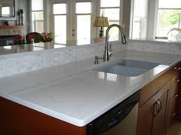 Blue Countertop Kitchen Ideas Cabinet Blue Quartz Kitchen Countertops Waterfall Countertop