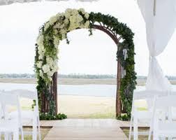 wedding arbor kits rustic wedding arch etsy