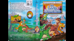 opening land anniversary edition 2003 vhs