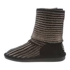 womens knit boots bearpaw knit metallic 14 inch s boots 1897w