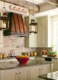 faux brick backsplash in kitchen faux brick kitchen backsplash thelamda