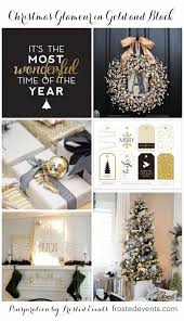 Simon Pearce Christmas Tree Dish by Christmas Decorations U0026 Ideas Glittering In Black And Gold