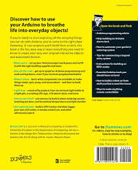 arduino projects for dummies amazon co uk brock craft