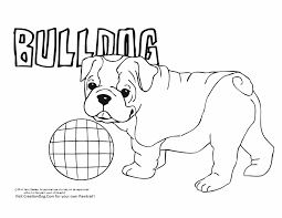 bulldog coloring pages getcoloringpages com