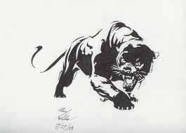 tribal panther by elemental war on deviantart