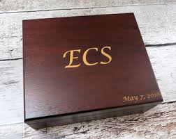 personalized keepsake boxes custom keepsake box etsy