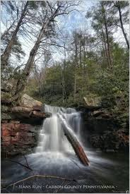 Pennsylvania travel photography images The waterfalls of jeans run pennsylvania the leisurely scientist jpg