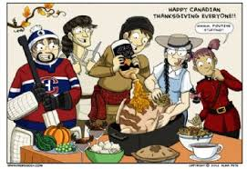 happy thanksgiving weekend to all of us canadians