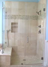Bathroom Shower Door Frameless Shower Enclosure Traditional Bathroom Houston By