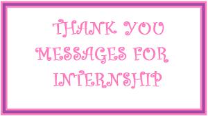 Example Of Thanksgiving Speech Thank You Messages Internship
