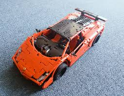 lego lamborghini gallardo lego moc 3918 lamborghini gallardo super trofeo stradale technic