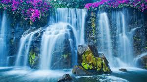 beautiful waterfalls wallpaper
