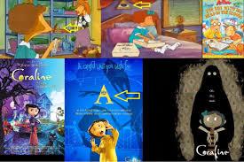 imagenes subliminales de dibujos animados pirámide y ojo de horus en dibujos animados arthur coraline