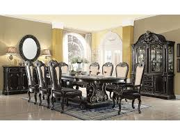gold dining table set ebony black with gold brush dining set shop for affordable home