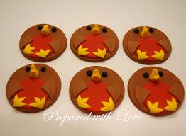 Christmas Cake Decorations Robin by Seasonal Cake Toppers Prepared With Love
