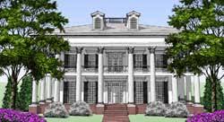 antebellum home plans plantation house plans house plans