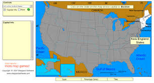 us map quiz sheppard software technology rocks seriously 50 states and capitals