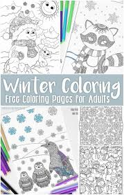 easy peasy coloring page free printable winter coloring pages for adults easy peasy free