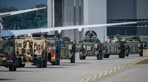 Data Centers Steadfast 2 Title 6 File U S Army Stryker Armored Vehicles Convoy During Operations