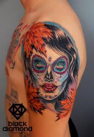black diamond tattoo glyfada black diamond tattoo on twitter queen of autumn leaves