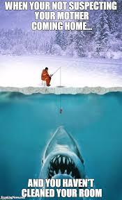 Funny Fish Memes - ice fishing imgflip