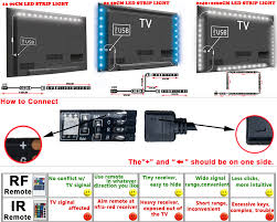 modern colour changing 5v rgb 5050 led strip usb tv pc back mood