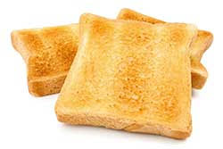 Lightly Definition Toast Definition And Meaning Collins English Dictionary