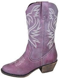big w s boots big sale day smoky mountain 1306 kid s boot purple luster
