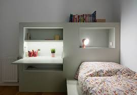 bedroom shelves this small kids bedroom combines the bed frame a desk and shelves
