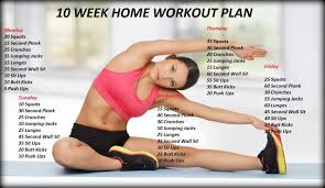 at home workout plans for women 10 week no gym home workout plan amazing healthy food